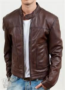 Leather Jacket Mens Mens Brown Leather Jacket Ascari Uk Lj