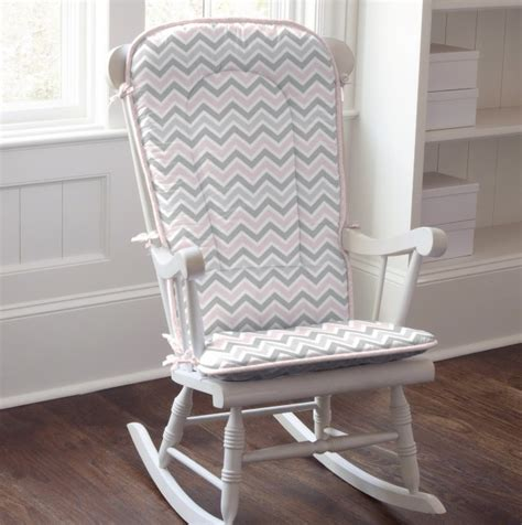Rocking Chair Pads For Nursery Nursery Rocking Chair Cushions Set Home Design Ideas
