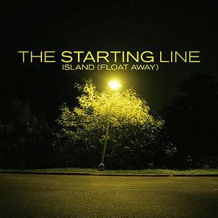 the starting line bedroom talk island float away wikipedia