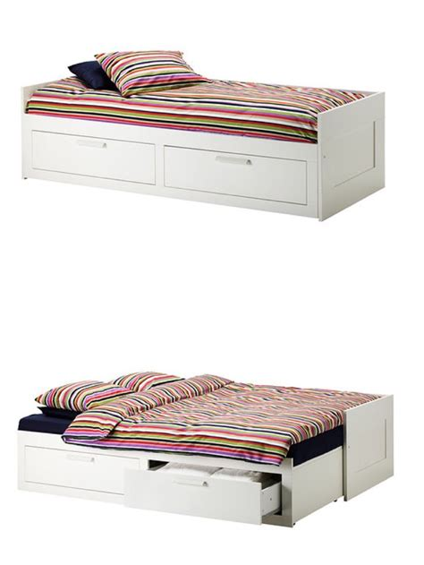 Brimnes Daybed Frame With 2 Drawers White by Brimnes Daybed Frame With 2 Drawers White Beds