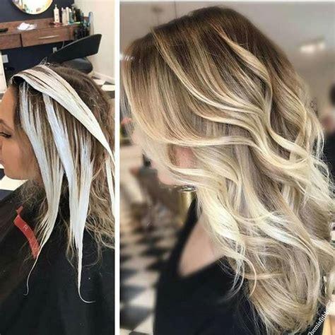 Light Brown To Blonde Ombre Mechas Balayage Como Hacerlas Bien Explicadas Paso A Paso