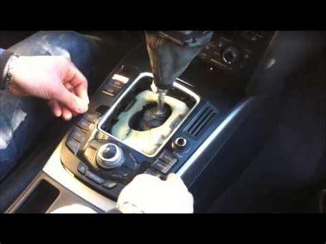Audi A4 B8 Lwechsel by Smontaggio Console Centrale Mmi Audi A4 B8 8k Youtube