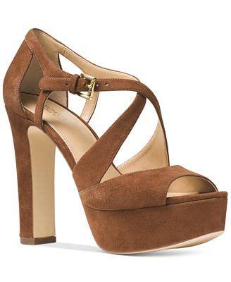 michael kors sandals macys michael michael kors harlen strappy sandals sandals