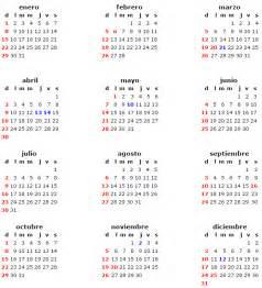 Calendario 2018 Dias Festivos Mexico Calendario Laboral 2017 M 233 Xico
