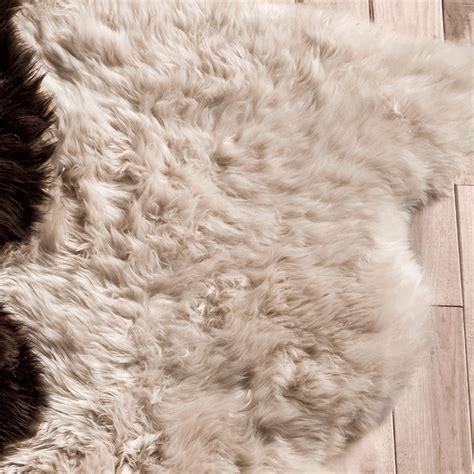 large sheepskin rug southwest rugs chagne large sheepskin rug lone western decor