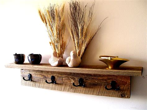 Wall Coat Rack Shelf by Wall Hung Coat Rack Shelf Hat Rack Key Rack By