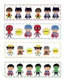 pattern games printable preschool printables super hero s pattern cards summer