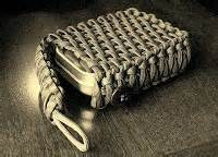 Stormdrane's Blog: Survival Tin/Playing Card EDC Paracord Pouch