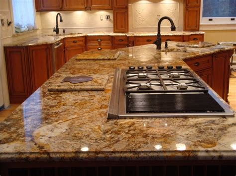 Granite Tile Bar Top by 10 Types Of Kitchen Countertops Buying Guide