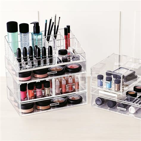 Makeup Organizer acrylic makeup organizer large acrylic makeup organizer