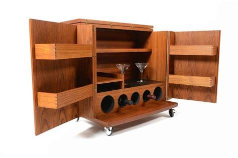 fold out bar cabinet danish mid century fold out teak bar cabinet mid century