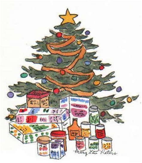 Tree Of Food Pantry by Lou Peters Watercolorist