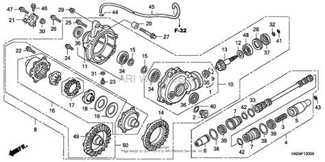 honda foreman 500 parts diagram need help with rubicon front diff honda foreman forums