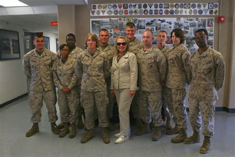 Turned Away By Marines by Why Clinton Says Marine Corps Turned Away