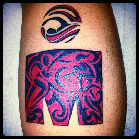 ironman triathlon tattoo ironman calf tribal triathlon ironman