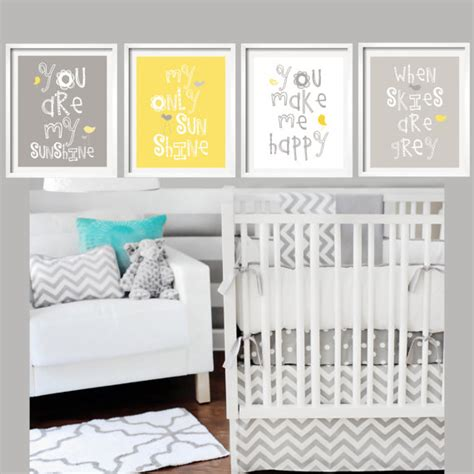 you are my sunshine bedroom yellow and gray art prints you are my sunshine nursery wall