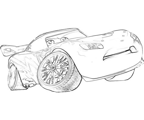 lightning mcqueen coloring pages cars 2 free coloring pages of mcqueen 2