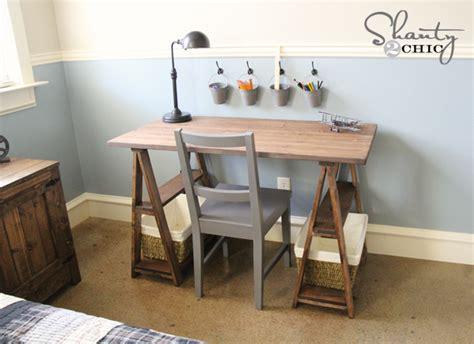 how to build a child s desk restoration hardware diy desk shanty 2 chic