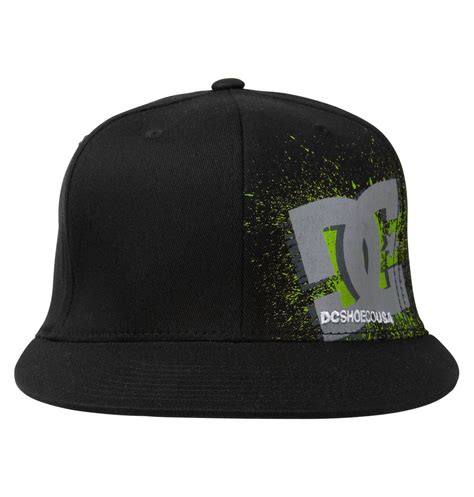 Cp Logo Black Aj s hemmy hat adyha00051 dc shoes