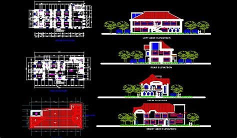Modern House Design With Floor Plan In The Philippines by Buildersphilippines Com Philippine Architectural