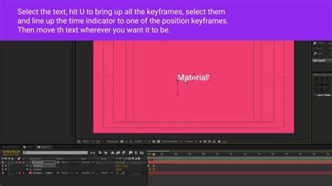 material design after effect after effects material design text animation preset free