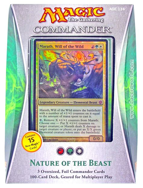 Mtg Commander Deck 2013 by Magic The Gathering Commander Deck 2013 Nature Of The