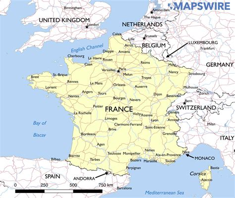printable maps france free maps of france mapswire com