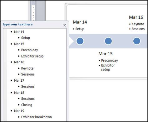 timelines template microsoft word 2007 images