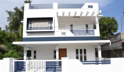 aluva 4 5 cents plot and 1800 sq ft medium budget house