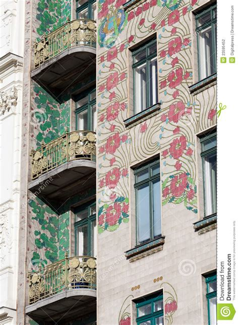 otto wagner architecture art nouveau stock photo image