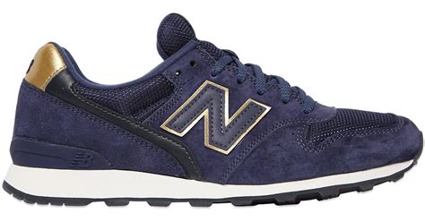 Rasio Mesh Sneakers Navy new balance 996 suede mesh sneakers in blue lyst