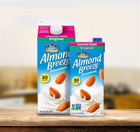 Shelf Stable Half And Half by Unsweetened Original Almond