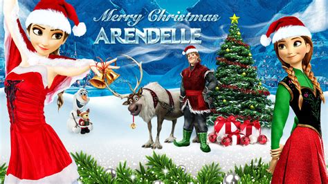 wallpaper frozen christmas frozen 1920x1080 merry christmas arendelle by
