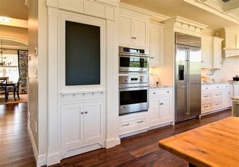 hidden pantry transitional kitchen duron shell white
