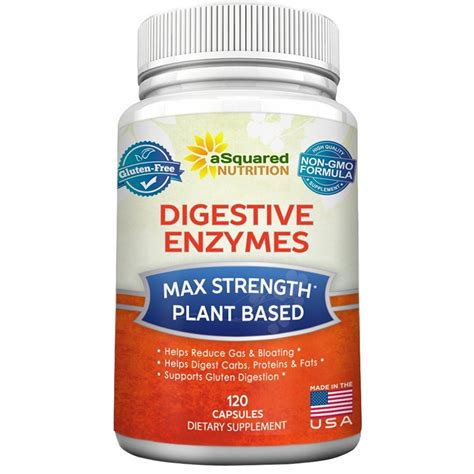 Enzymes Capsules Detox buy digestive enzymes supplement 120 capsules best