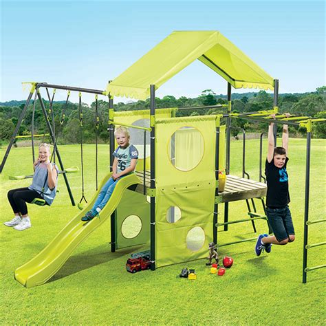 swing sets bunnings swing slide climb manor swing set bunnings warehouse