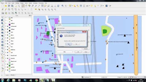 Qgis Processing Tutorial | qgis tutorial use of geo processing tools buffer