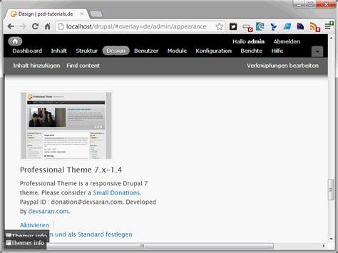 drupal theme link drupal themes teil 2 drupaltutorials de