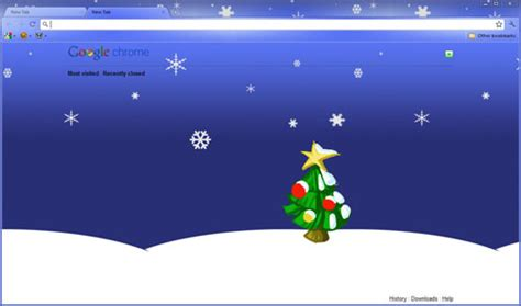 themes for google chrome christmas 7 google chrome christmas themes sumtips