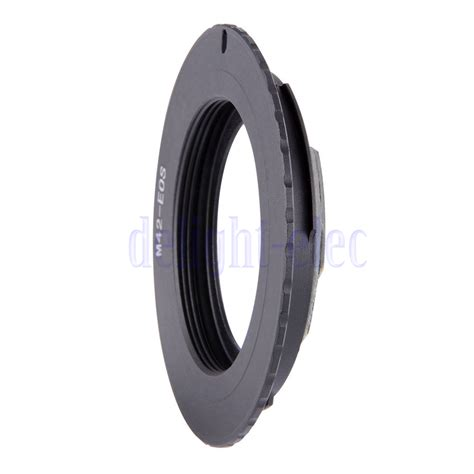 Adapter M42 To Canon Eos Af Comfirm 500d 600d 650d 60d 70d 7d 5d Dll af confirm adapter ring for m42 lens to canon eos ef mount cap de ebay
