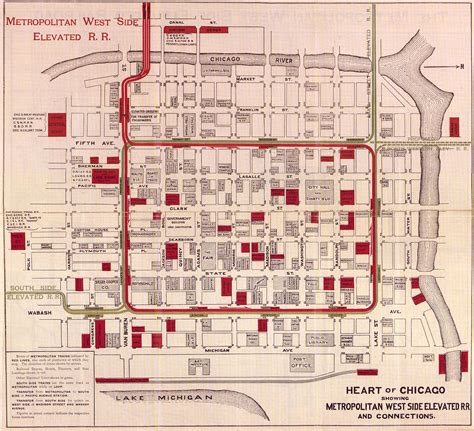 map of downtown chicago what is the chicago loop map