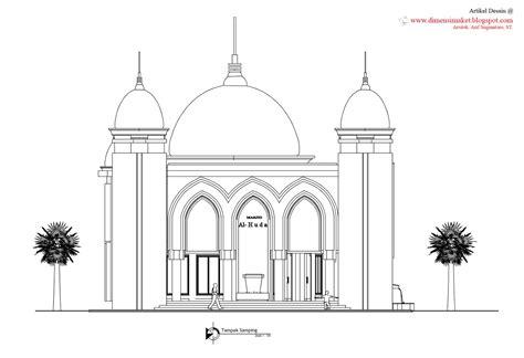 desain masjid musholla 010 perencanaan masjid al huda dadaprejo kota batu
