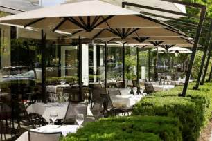 Restaurant Patio Umbrellas Hospitality 171 Caravita Outdoor Living