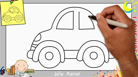 Auto Malen by Auto Zeichnen Lernen Einfach Schritt F 252 R Schritt F 252 R