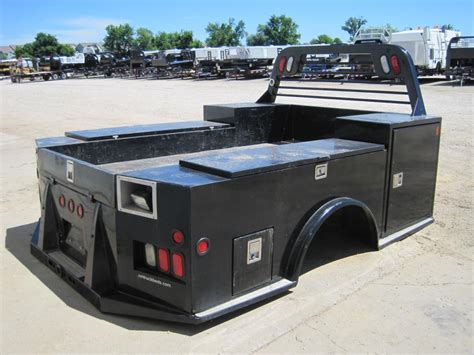 used truck bed used cm tm model truck bed with tool boxes flatbed service