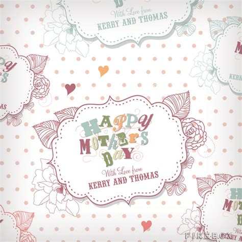 printable wrapping paper mother s day personalised mother s day wrapping paper buy at firebox com