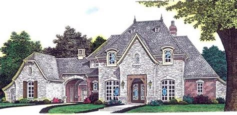 European Country House Plans European Country House Plan 92230