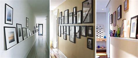 decorar con fotos un pasillo decorar con cuadros un pasillo largo interiores