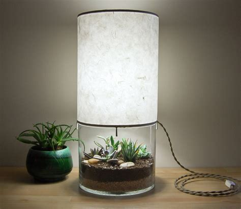Terrarium Light Fixture 8 Flourishing Pieces Of Plant Filled Furniture