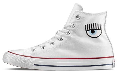 chiara ferragni shoes converse chiara ferragni x converse chuck taylor all star hi white